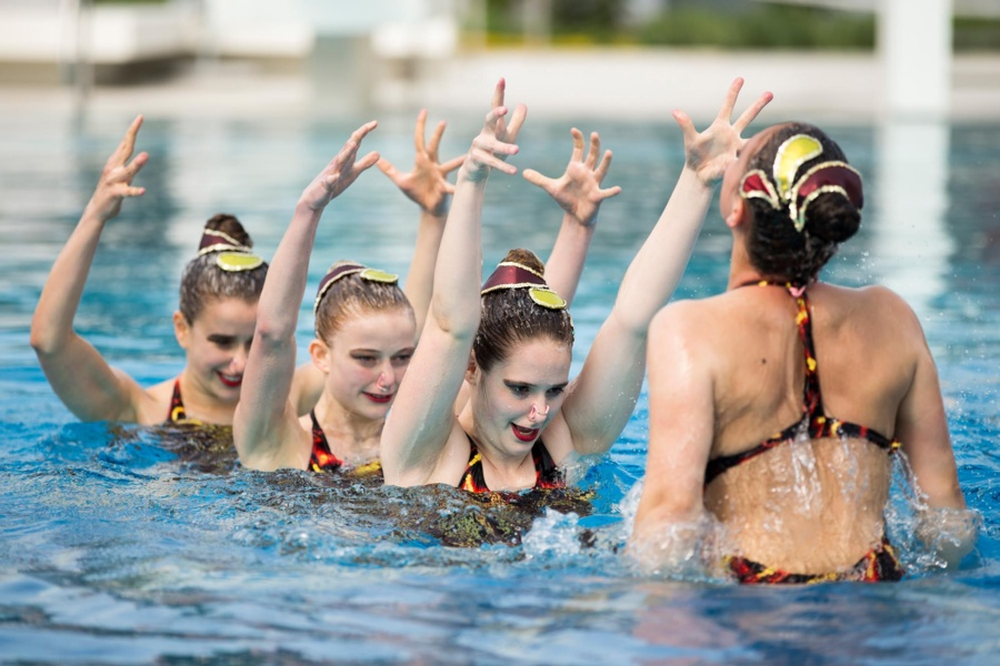 Artistic Swimming Sportcamp und Wellness